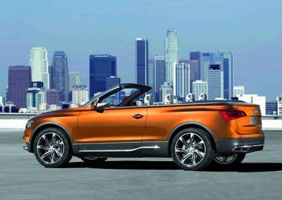 Компания Audi представила Cross Cabriolet Quattro - фото 12