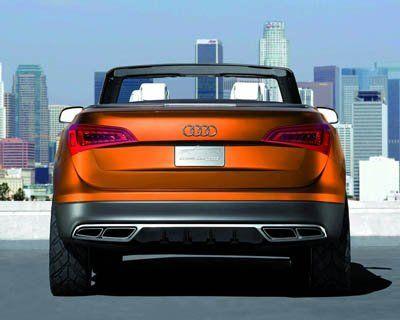 Компания Audi представила Cross Cabriolet Quattro - фото 7