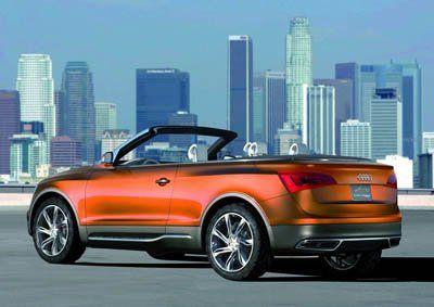 Компания Audi представила Cross Cabriolet Quattro - фото 9