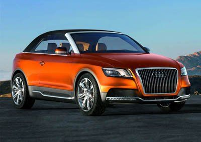 Компания Audi представила Cross Cabriolet Quattro - фото 3