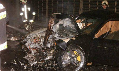 Жуткая авария Porsche 911 Techart и Lamborghini Murcielago - фото 8