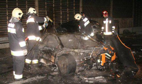 Жуткая авария Porsche 911 Techart и Lamborghini Murcielago - фото 4
