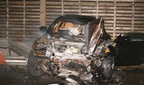 Жуткая авария Porsche 911 Techart и Lamborghini Murcielago - фото 9