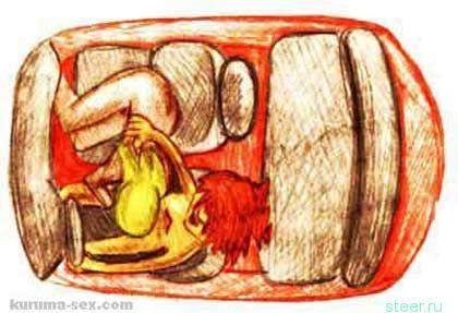 Позы для секса в автомобиле - фото 10