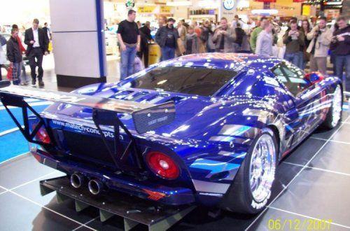 Настоящий красавчик! Ford GT3 - фото 3
