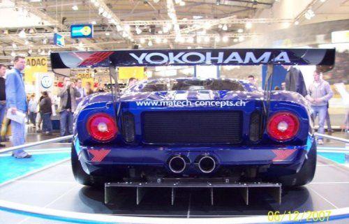 Настоящий красавчик! Ford GT3 - фото 4