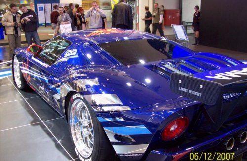 Настоящий красавчик! Ford GT3 - фото 1
