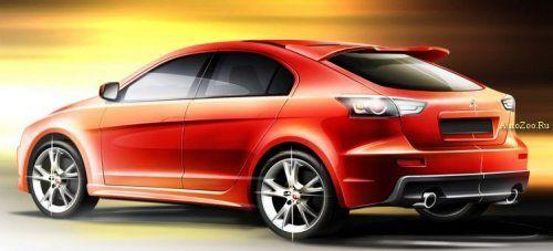 Ожидается появление Lancer X в кузове Sportback - фото 3