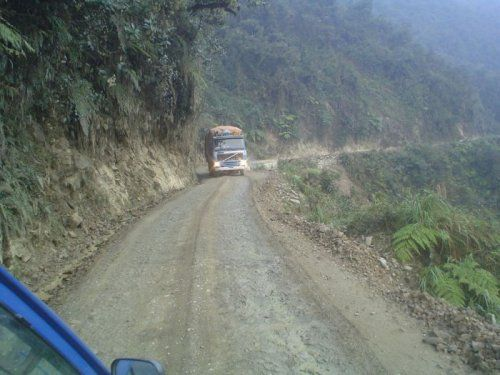 Дорога смерти в Боливии - фото 9