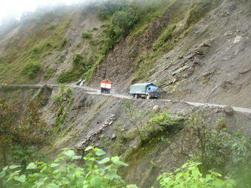 Дорога смерти в Боливии - фото 13