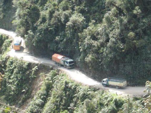 Дорога смерти в Боливии - фото 17