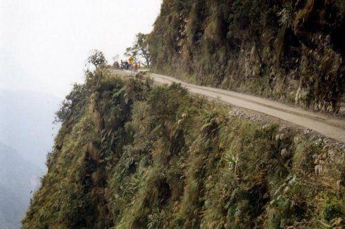 Дорога смерти в Боливии - фото 16