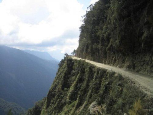 Дорога смерти в Боливии - фото 20