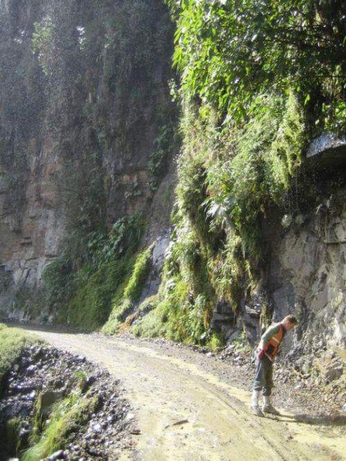 Дорога смерти в Боливии - фото 11