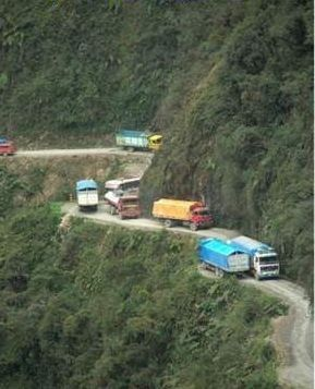 Дорога смерти в Боливии - фото 14