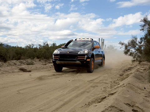 2008 Porsche Cayenne Transsiberia Rally SUV - фото 4