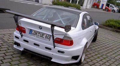 Старая BMW M3 с новым двигателем - фото 1