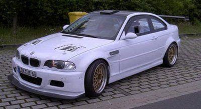 Старая BMW M3 с новым двигателем - фото 2