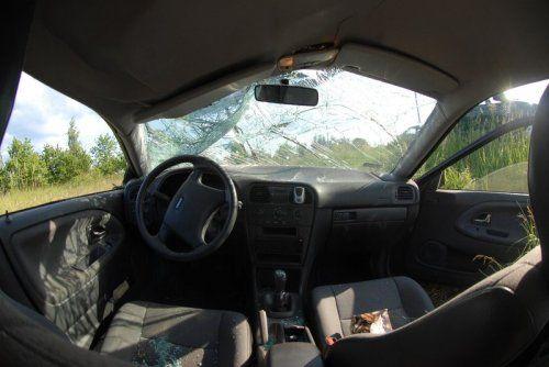 Съёмка аварии изнутри автомобиля - фото 3