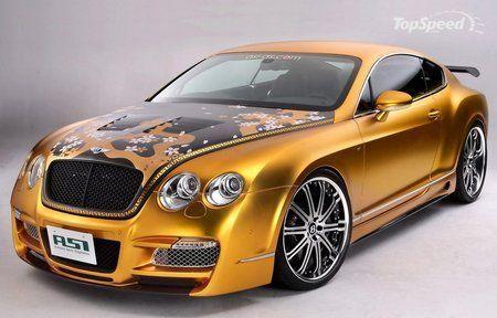 Купе ASI Tetsu GTR на базе эксклюзивного Bentley Continental GT - фото 2