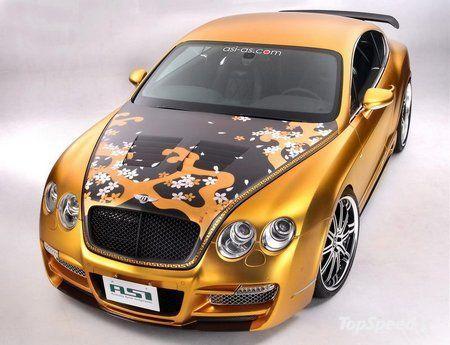 Купе ASI Tetsu GTR на базе эксклюзивного Bentley Continental GT - фото 6
