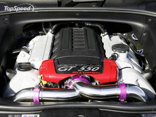 Тюнинг Porsche Cayenne Turbo GT550 Aero 3 от Gemballa - фото 6