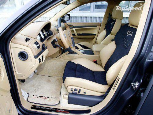 Тюнинг Porsche Cayenne Turbo GT550 Aero 3 от Gemballa - фото 2