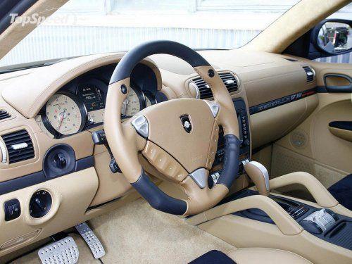 Тюнинг Porsche Cayenne Turbo GT550 Aero 3 от Gemballa - фото 1
