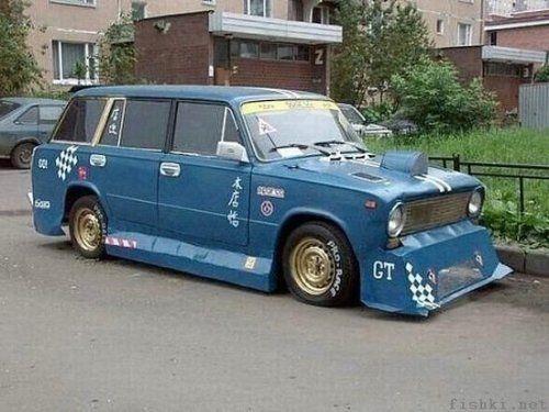 Тюнинг русского автопрома - фото 59