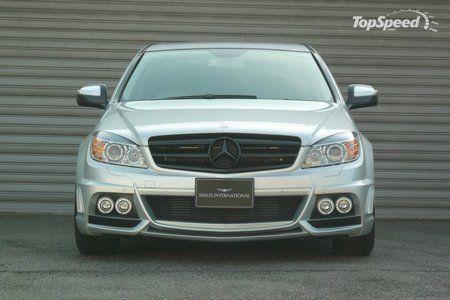 Седан W204 Black Bison от Wald International на базе Mercedes C-класса - фото 5