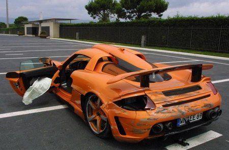 Gemballa Mirage GT стоимостью 725 000 евро разбился на гоночно - фото 2