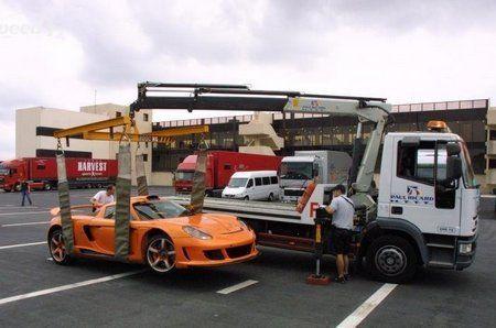 Gemballa Mirage GT стоимостью 725 000 евро разбился на гоночно - фото 7