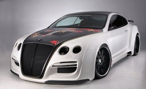 TETSU GTR by ASI на базе Bentley Continental GT - фото 10