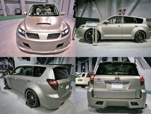 Toyota RAV4 V6 Performance Sport Concept на автошоу SEMA - фото 2
