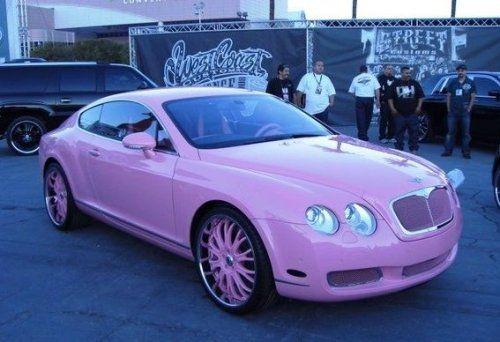 Гламурный розовый Bentley для Пэрис Хилтон - фото 3