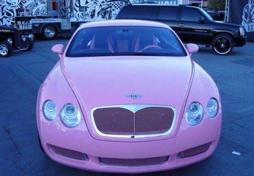 Гламурный розовый Bentley для Пэрис Хилтон - фото 4