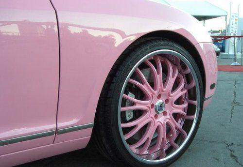 Гламурный розовый Bentley для Пэрис Хилтон - фото 1