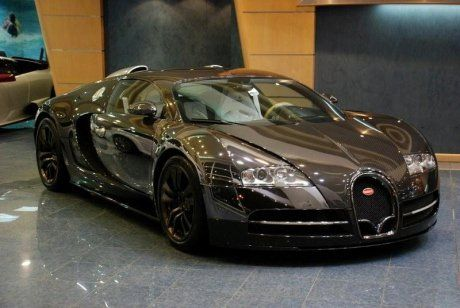 Bugatti Veyron Vincero от Mansory - фото 1