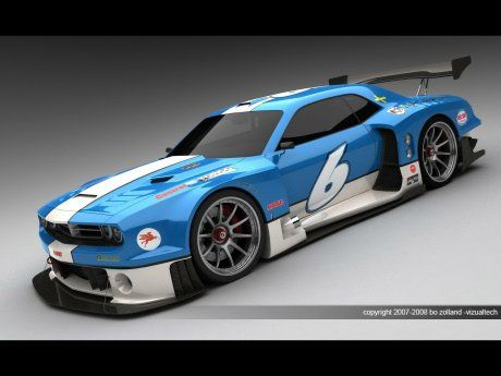 Dodge Challenger для Le Mans - фото 2