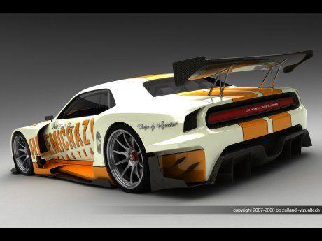 Dodge Challenger для Le Mans - фото 3