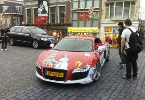 Audi R8 для Санта Клауса - фото 3
