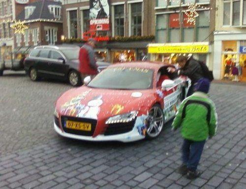 Audi R8 для Санта Клауса - фото 6