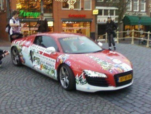 Audi R8 для Санта Клауса - фото 4