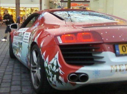 Audi R8 для Санта Клауса - фото 2