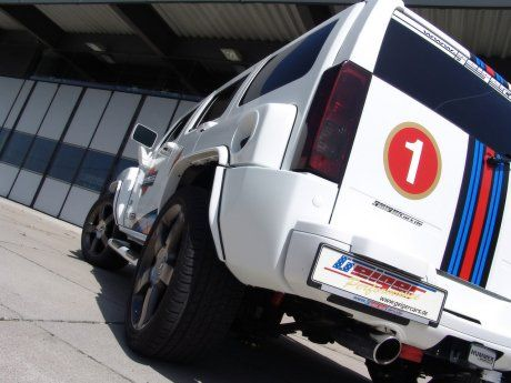 Hummer H3 V8 Kompressor от GeigerCars - фото 2