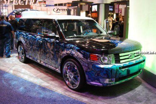 Тюнинг-шоу на Detroit Auto Show 2009 - фото 2
