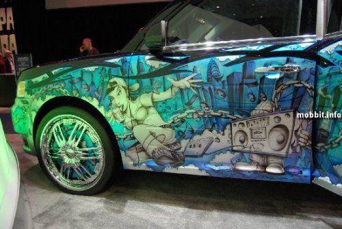 Тюнинг-шоу на Detroit Auto Show 2009 - фото 21