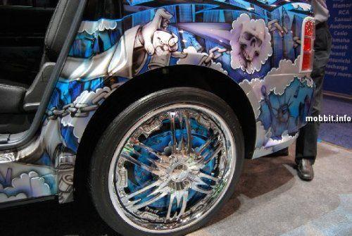 Тюнинг-шоу на Detroit Auto Show 2009 - фото 9