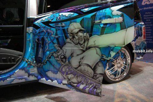 Тюнинг-шоу на Detroit Auto Show 2009 - фото 7