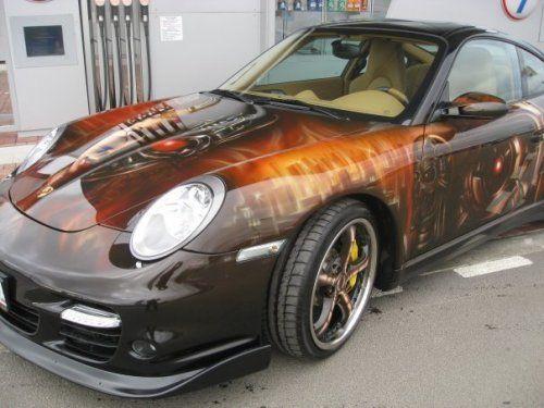Porsche 911 Turbo-9ff 800 л.с в аэрографии - фото 2